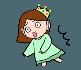 Princess Sticker 1 sticker #12618881