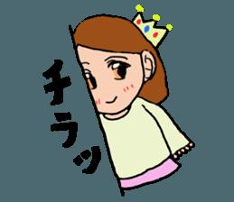 Princess Sticker 1 sticker #12618883