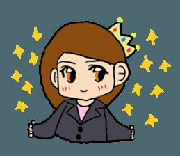 Princess Sticker 1 sticker #12618886