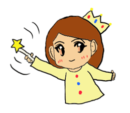 Princess Sticker 1 sticker #12618887