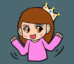 Princess Sticker 1 sticker #12618890