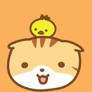 สติ๊กเกอร์ไลน์ cat fuku06