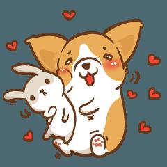 Corgi Dog Kaka - Good Friends vol. 2