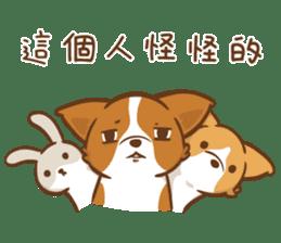 Corgi Dog Kaka - Good Friends vol. 2 sticker #12629506