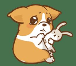 Corgi Dog Kaka - Good Friends vol. 2 sticker #12629509