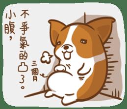 Corgi Dog Kaka - Good Friends vol. 2 sticker #12629512