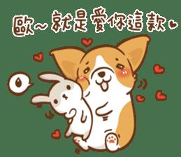 Corgi Dog Kaka - Good Friends vol. 2 sticker #12629515