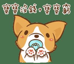 Corgi Dog Kaka - Good Friends vol. 2 sticker #12629519