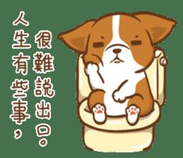 Corgi Dog Kaka - Good Friends vol. 2 sticker #12629521