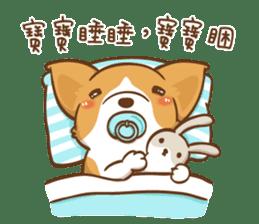 Corgi Dog Kaka - Good Friends vol. 2 sticker #12629522