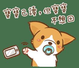 Corgi Dog Kaka - Good Friends vol. 2 sticker #12629524