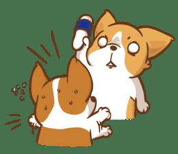 Corgi Dog Kaka - Good Friends vol. 2 sticker #12629537