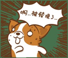 Corgi Dog Kaka - Good Friends vol. 2 sticker #12629539