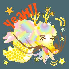 Merry dragon
