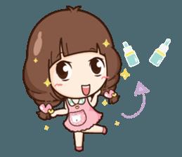 Cute little Merchant beauty shop.+ sticker #12635283