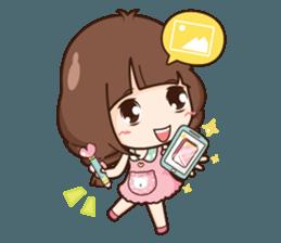 Cute little Merchant beauty shop.+ sticker #12635298