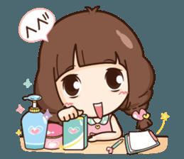 Cute little Merchant beauty shop.+ sticker #12635300