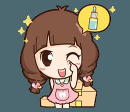 Cute little Merchant beauty shop.+ sticker #12635303