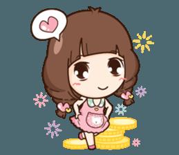 Cute little Merchant beauty shop.+ sticker #12635306