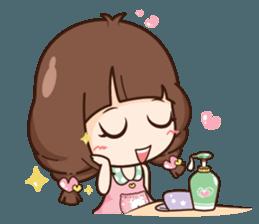 Cute little Merchant beauty shop.+ sticker #12635308