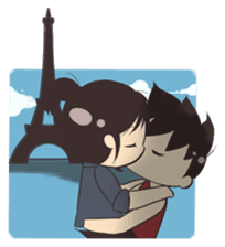 Cute Couple Goals (Eng) sticker #12635433