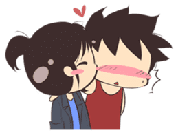 Cute Couple Goals (Eng) sticker #12635434