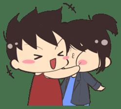 Cute Couple Goals (Eng) sticker #12635435