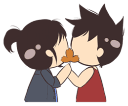 Cute Couple Goals (Eng) sticker #12635436