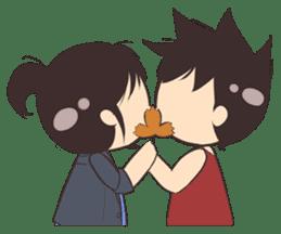 Cute Couple Goals (Eng) sticker #12635436
