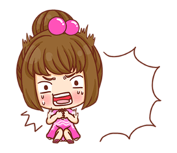 Cookie little girl skittish + sticker #12636532