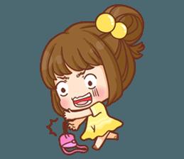 Cookie little girl skittish + sticker #12636534