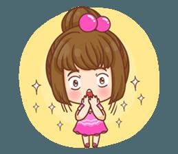 Cookie little girl skittish + sticker #12636535