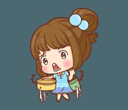 Cookie little girl skittish + sticker #12636537