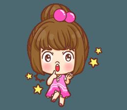 Cookie little girl skittish + sticker #12636538