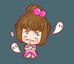 Cookie little girl skittish + sticker #12636541