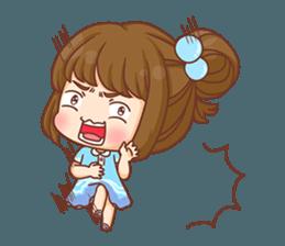 Cookie little girl skittish + sticker #12636543