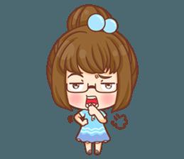 Cookie little girl skittish + sticker #12636544