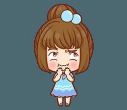 Cookie little girl skittish + sticker #12636545