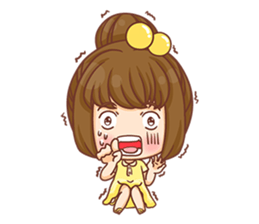 Cookie little girl skittish + sticker #12636546