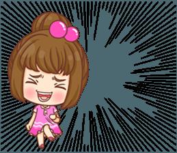 Cookie little girl skittish + sticker #12636550