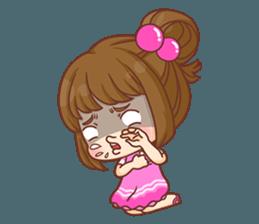 Cookie little girl skittish + sticker #12636553