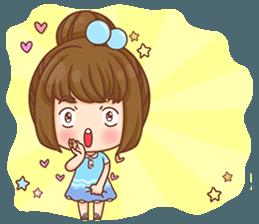 Cookie little girl skittish + sticker #12636554