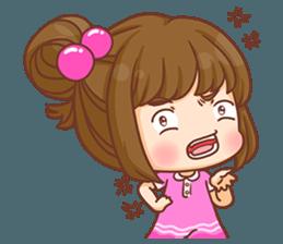 Cookie little girl skittish + sticker #12636559