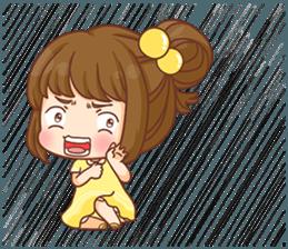 Cookie little girl skittish + sticker #12636560