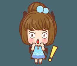 Cookie little girl skittish + sticker #12636563