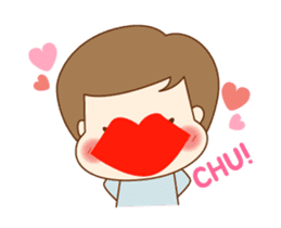 CUTE BOY [MANO] sticker #12638191