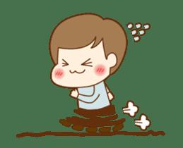 CUTE BOY [MANO] sticker #12638192