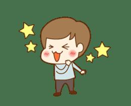 CUTE BOY [MANO] sticker #12638205
