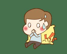 CUTE BOY [MANO] sticker #12638209