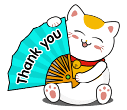 Kawaii Neko The Lucky Cat sticker #12643583